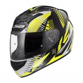 Шлем LS2 FF352 ROOKIE INFINITE (S, White Black Yellow)