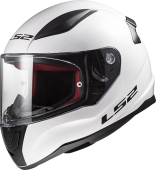 Шлем LS2 FF353 RAPID KID MINI SINGLE MONO (L, Gloss White)