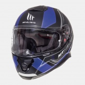 Шлем MT THUNDER 3 SV trace(XL Matt Black Blue)